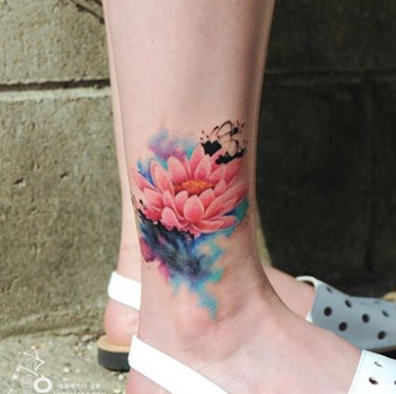 Ten Artysta Tworzy Tatuaże Które Wyglądają Jak Akwarelowe