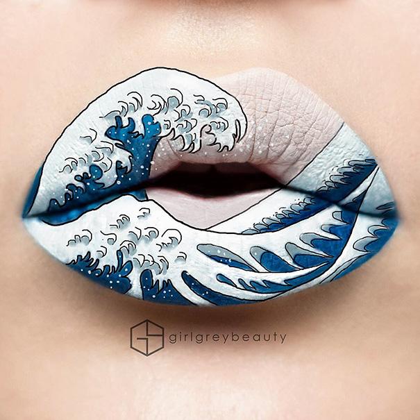 Andrea Reed i makijaż ust (3)