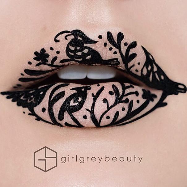 Andrea Reed i makijaż ust (5)