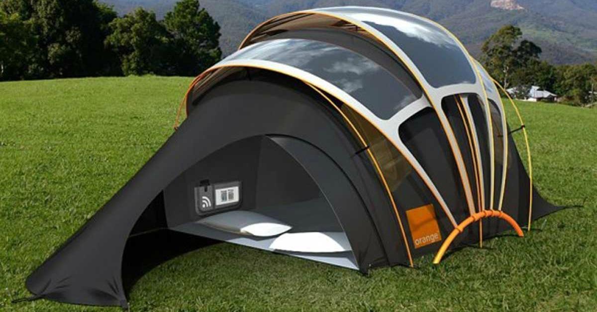 Ten namiot zmieni Twój sposób myślenia o biwaku. Proste i genialne rozwiązanie!