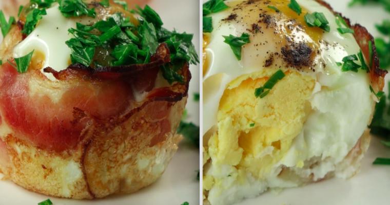 Pyszne śniadanie, do którego wykonania potrzebujesz zaledwie trzech składników. Ale to proste!