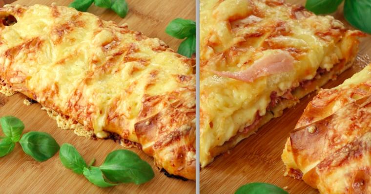 Wspaniały sposób na przyrządzenie wyjątkowej i niezwykłej pizzy. Chyba już zawsze będę tak robić!