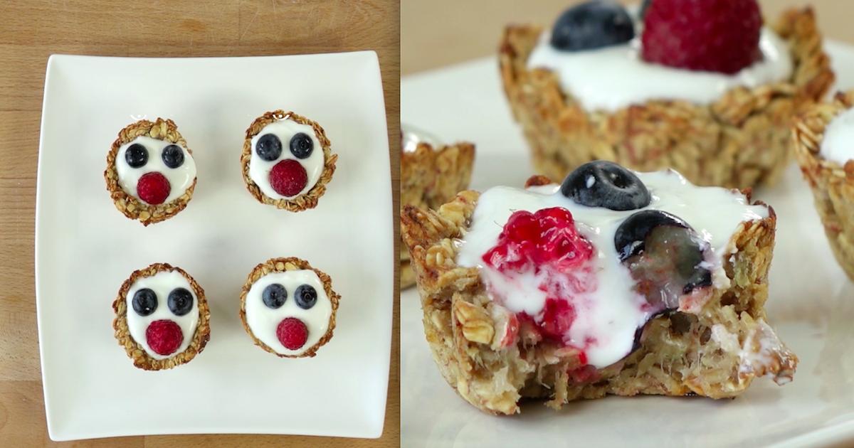 Smaczne i zdrowe babeczki z uśmiechem – idealny deser, kiedy chcesz poprawić komuś humor