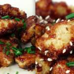 Pyszne nuggetsy z kurczaka, do których przygotowania nie użyliśmy ani kropli oleju. Pychotka!