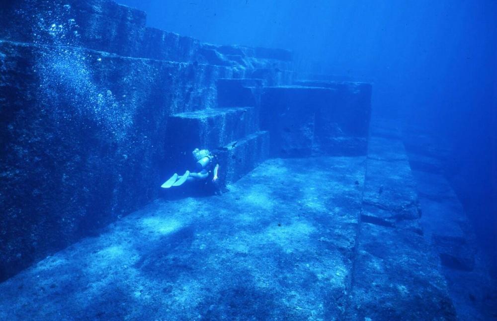 Podwodne miasto Yonaguni w Japonii