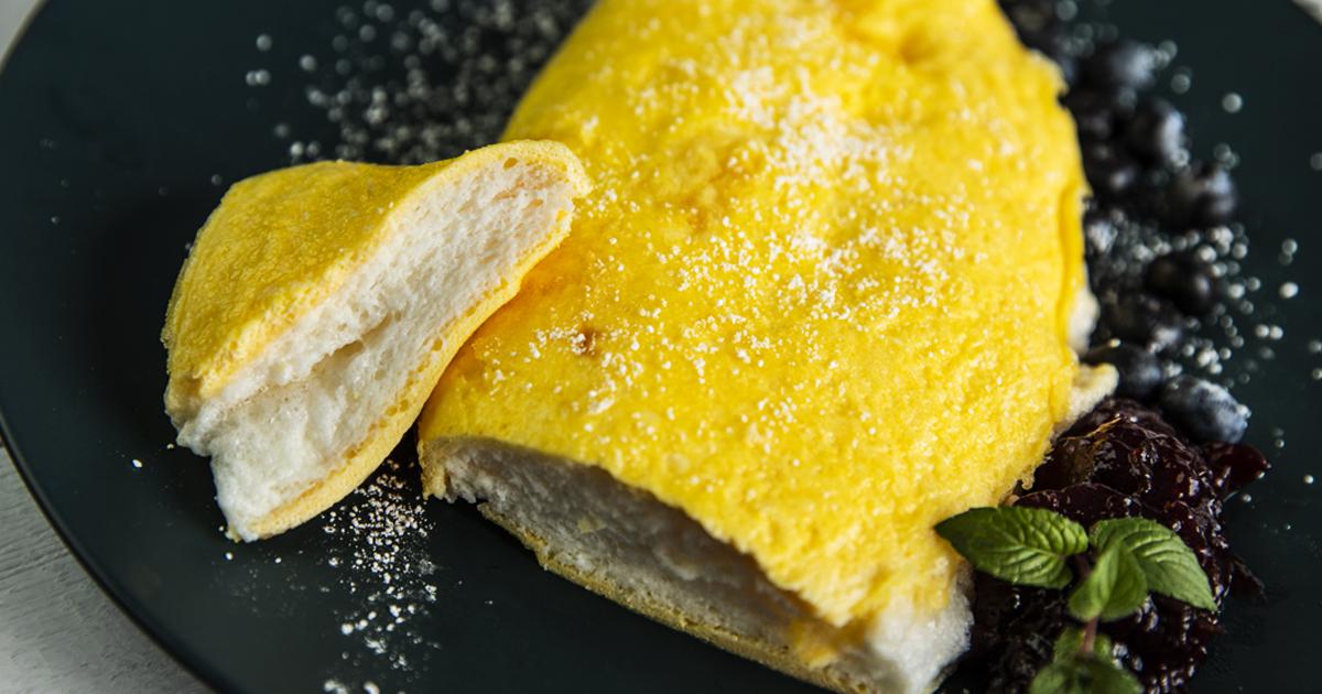 I to wszystko ? Omlet jest już gotowy, teraz wystarczy go udekorować i smacznego!