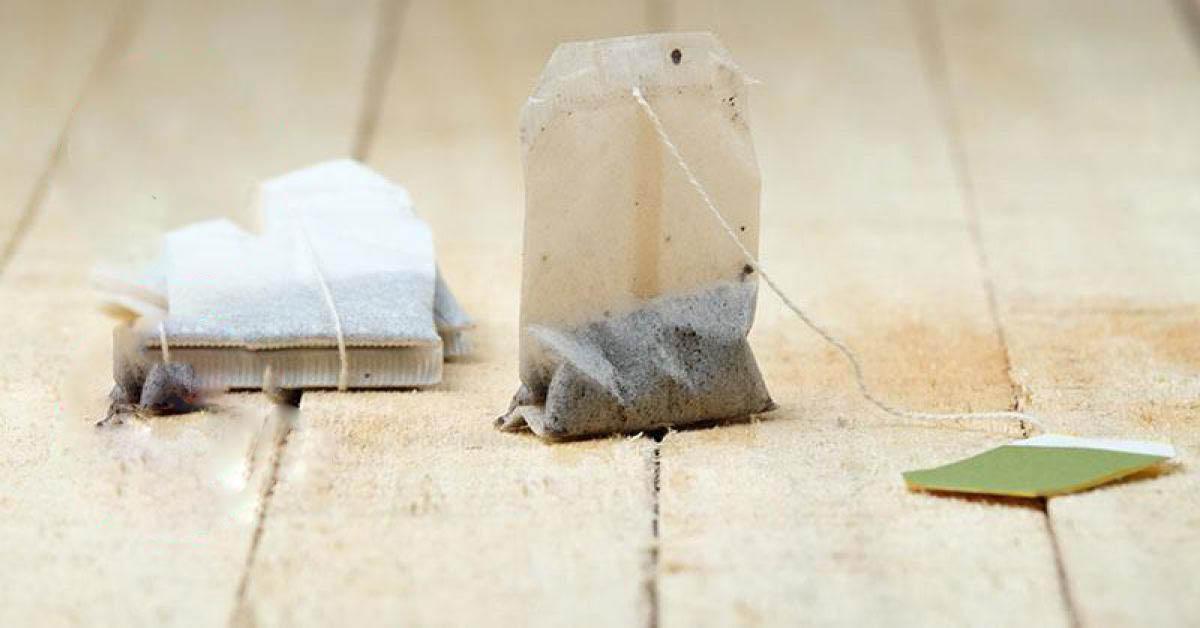 Wszystko czego potrzebujesz to torebka miętowej herbaty. Położona na podłodze potrafi zdziałać cuda!