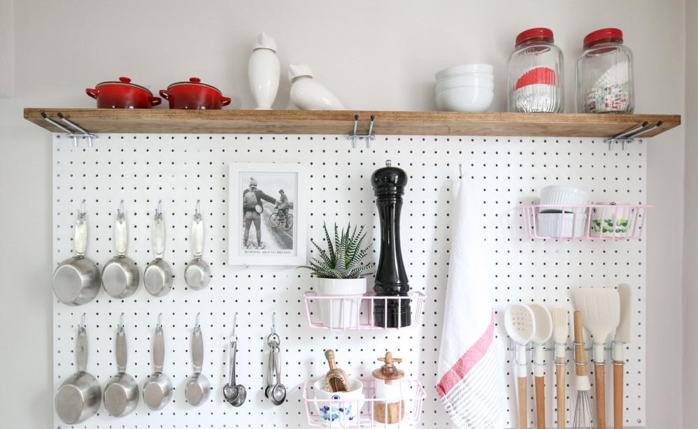 12 kreatywnych pomysłów z użyciem płyty perforowanej, które możesz wykorzystać w swoim domu