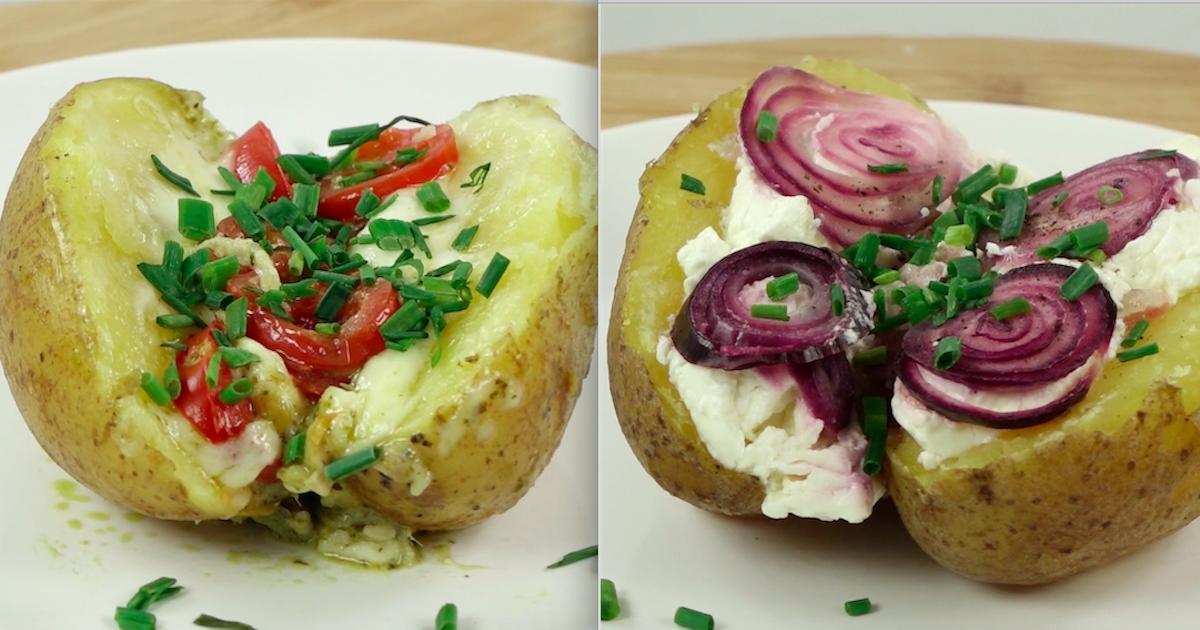 Pyszne pieczone ziemniaczki na 4 różne sposoby