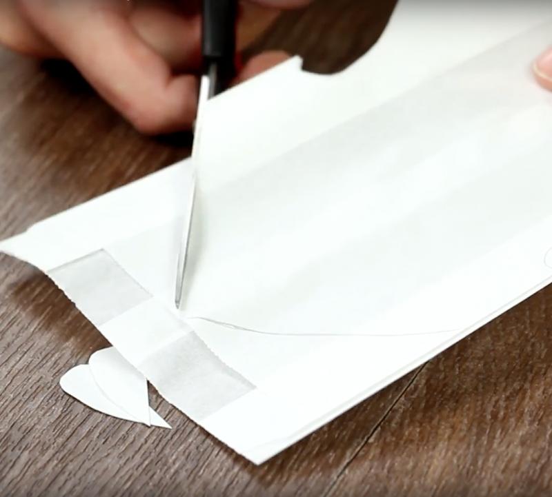 Taką gwiazdę możesz zrobić ze zwykłych papierowych torebek. Zajmie Ci to 5 min!