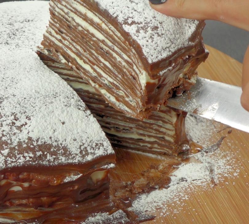 Gotowy tort przechowuj w lodówce.
