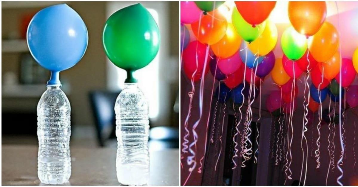 Как дома сделать шарики чтобы они летали