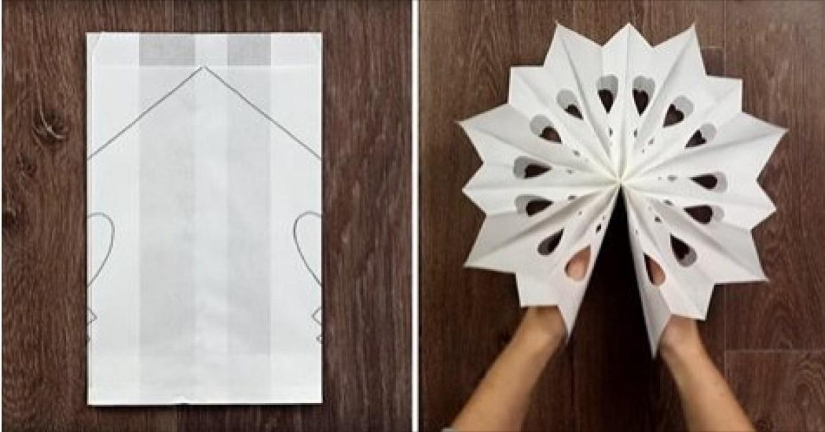 20 fantastycznych pomysłów na wykonanie papierowych płatków śniegu. Pokochają je wszystkie dzieci