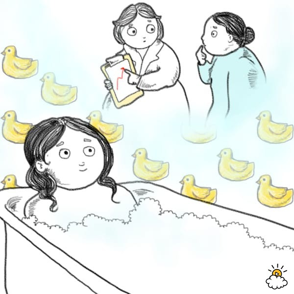 7 istotnych powodów, które przekonają Cię, że wanna jest zdecydowanie lepsza od prysznica