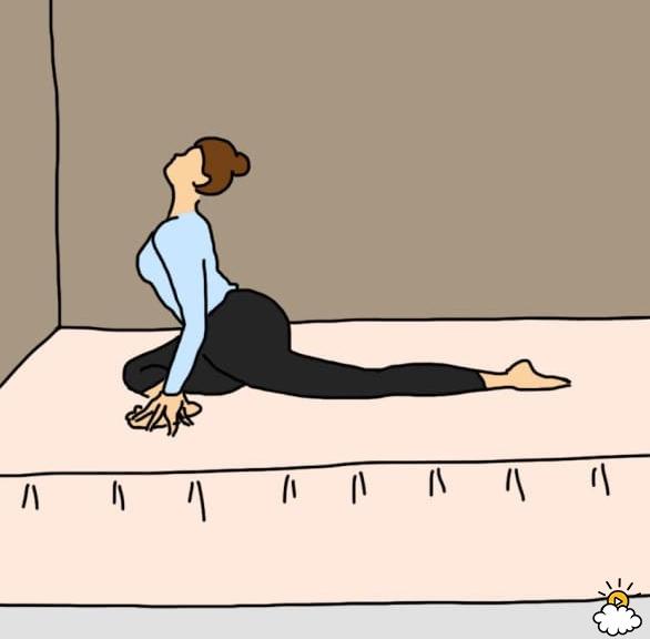 10 pozycji z jogi, które warto wykonywać tuż przed pójściem spać. Efekty Cię do nich przekonają