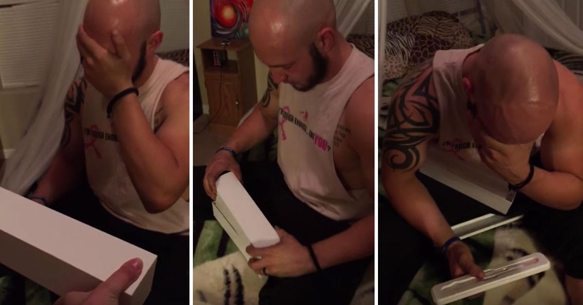 Był przekonany, że żona da mu na urodziny zegarek. Kiedy otworzył prezent, nie mógł powstrzymać łez