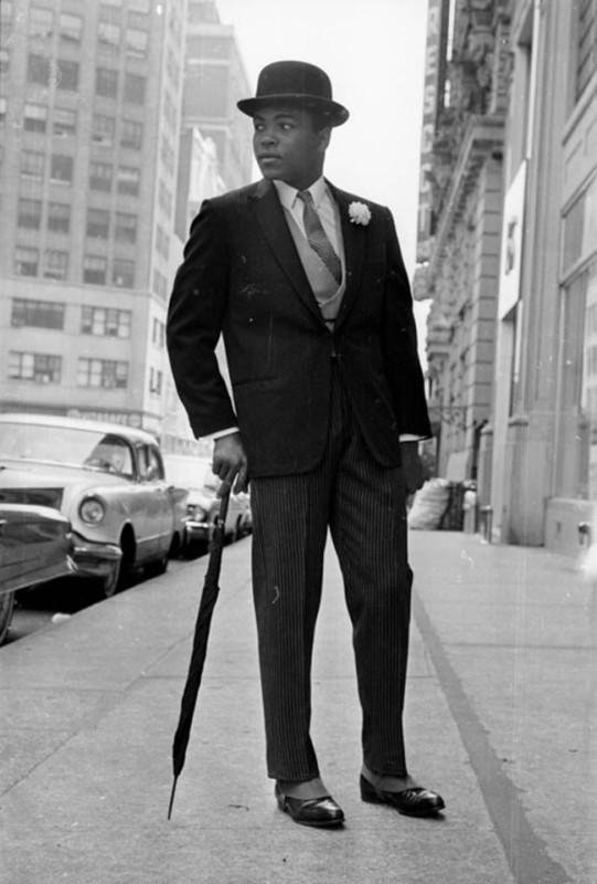 Legenda boksu, Muhammad Ali , tym razem w zupełnie innej odsłonie.