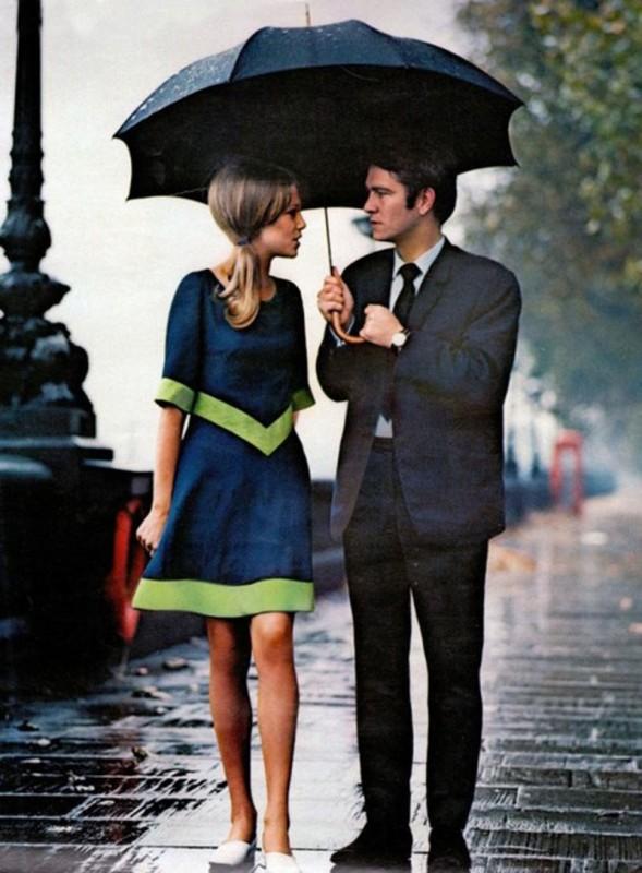 Śliczna para z Londynu.