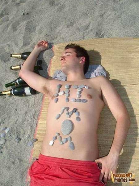 26 powodów, dla których pod żadnym pozorem, nie powinieneś zasypiać pijany na imprezie
