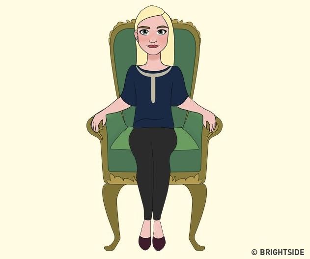 Sposób siedzenia zdradza wiele sekretów na temat naszej