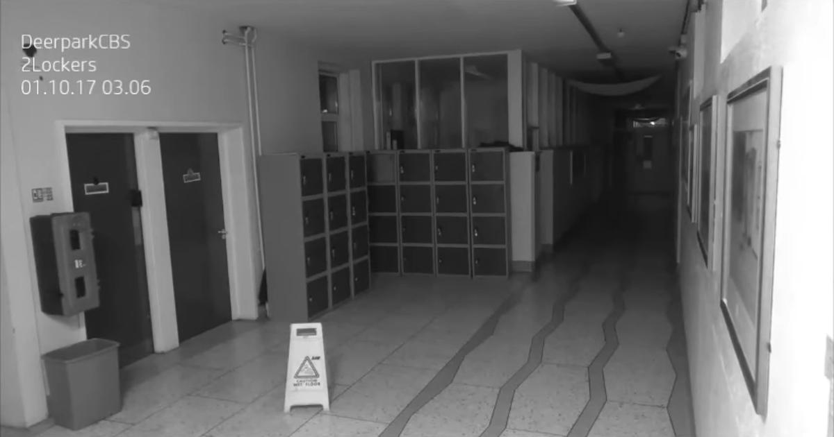 Kamery w szkole zarejestrowały przerażające zdarzenie. Wszystko tuż po 3 w nocy