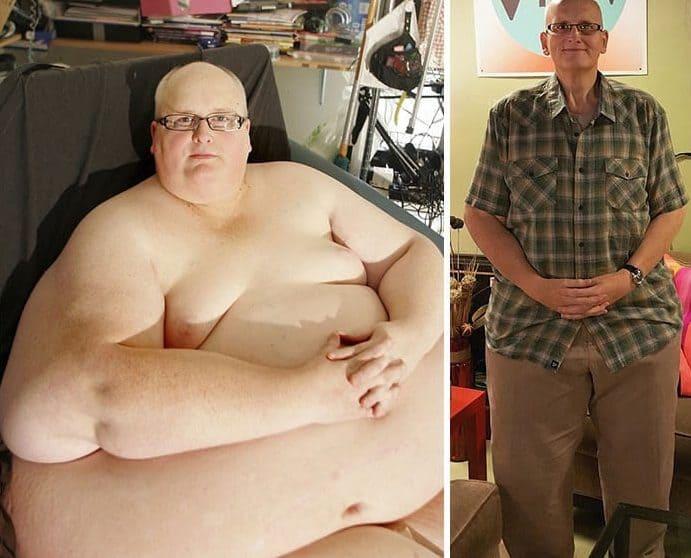 19 niesamowitych metamorfoz, które inspirują innych do zrzucenia zbędnych kilogramów