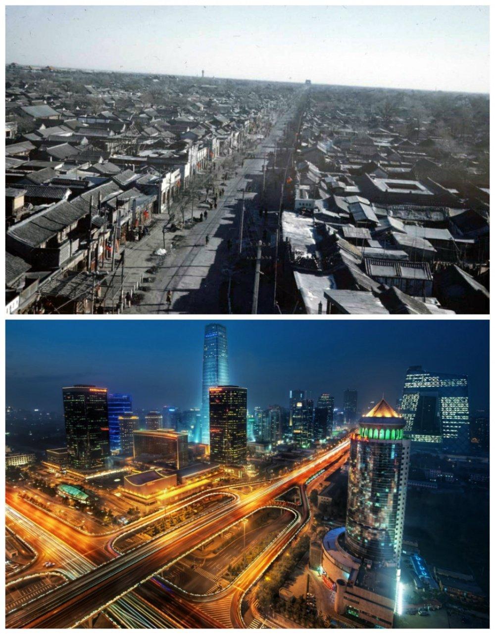 10 miast, które na przestrzeni lat zmieniły się nie do poznania. To wciąż te same miejsca