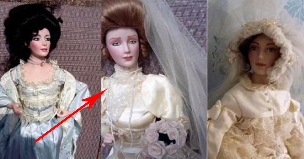 Kupiła za bezcen trzy drogie lalki. Jedna z nich nocą zaatakowała jej męża
