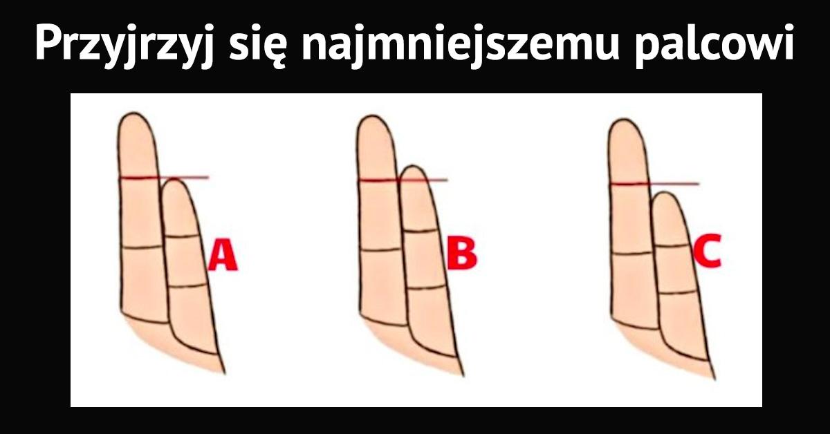 Spójrz na swoją dłoń i oceń długość małego palca. To mówi o Tobie więcej, niż myślisz