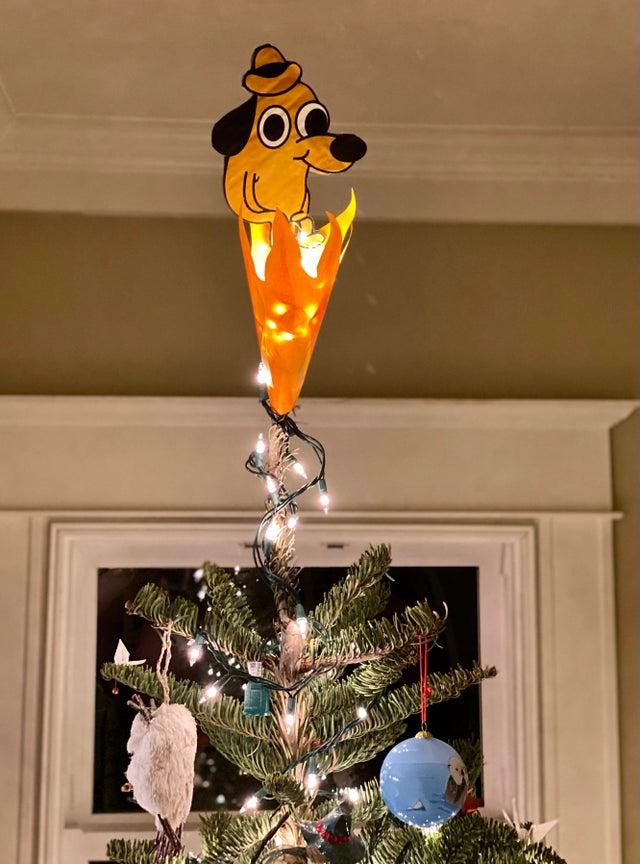 Śmieszne dekoracje na święta
