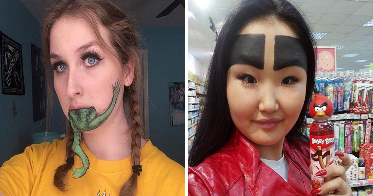 szalone makijaże