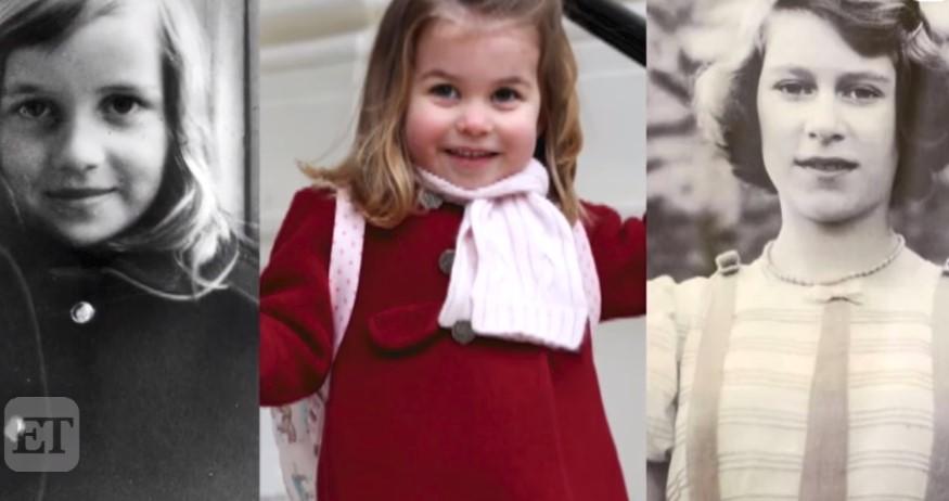 Księżniczka Charlotte przypomina księżnę Dianę z dzieciństwa. Fani są tym faktem zachwyceni