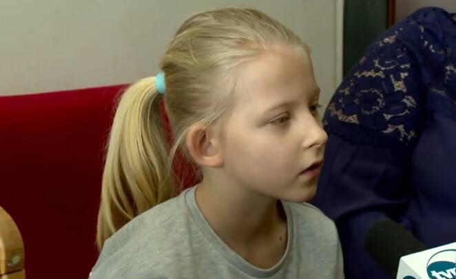 Zrzut z ekranu za: tvn24.pl/Zuzia