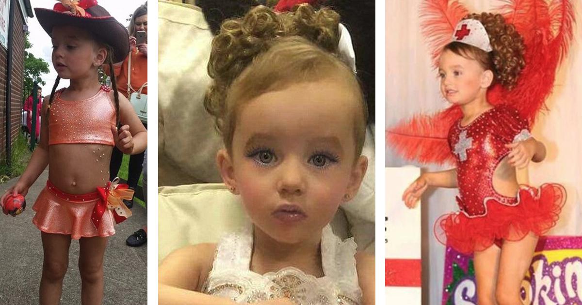 Pozwala opalać się i malować 3-letniej córce. Wszystko po to, aby wygrywała konkursy piękności