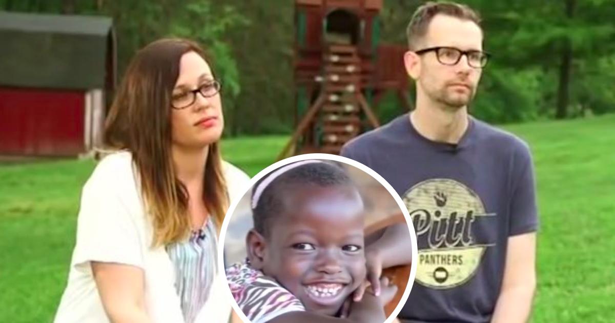 Adoptowali dziewczynkę z Ugandy. Gdy po 6 miesiącach opowiedziała im o sobie, odesłali ją