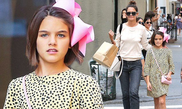 Córka Toma Cruise i Katie Holmes skończyła niedawno 12 lat. Suri zmieniła się nie do poznania
