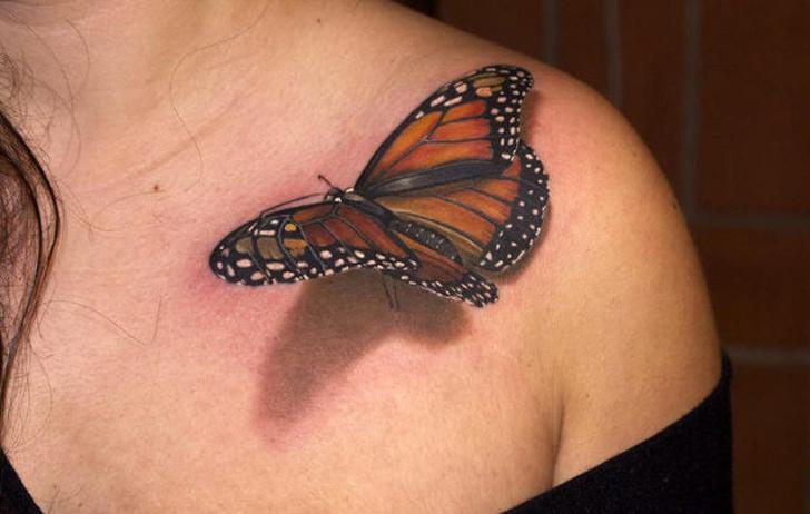 14 wyjątkowo realistycznych tatuaży 3D, które sprawią, że zaniemówisz z wrażenia