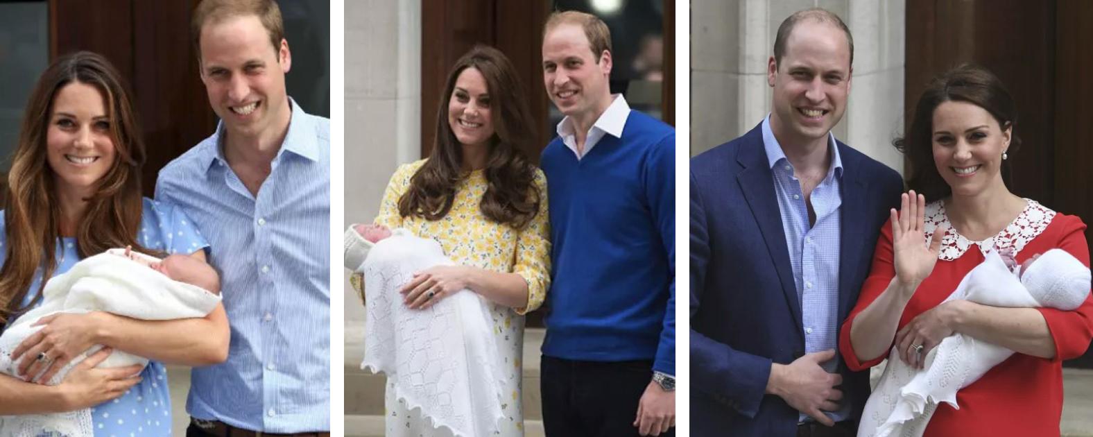 Mamy zestawiły swoje zdjęcia tuż po porodzie z fotografią Kate. Różnice widać gołym okiem