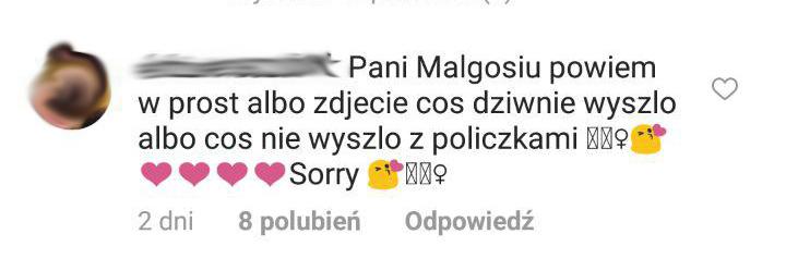 Małgosia Rozenek pod wpływem emocji odpowiada na komentarz. Fani są oburzeni jej słowami