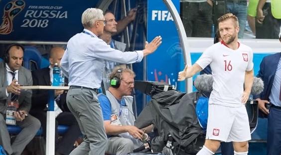 Nawałka upokorzył Błaszczykowskiego na meczu z Japonią. Taka sytuacja nie powinna mieć miejsca