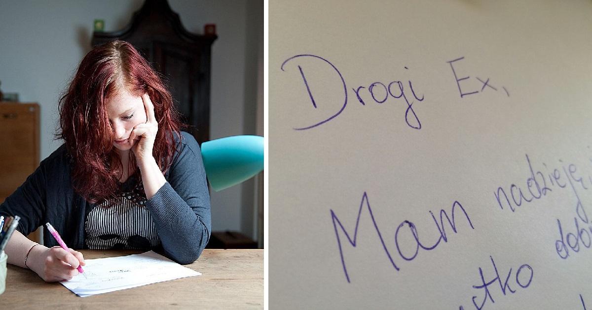 Napisała szczery list do byłego faceta. Jego treść szybko stała się hitem