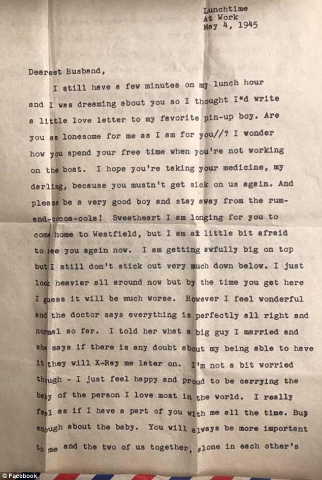 Podczas remontu znalazła między deskami podłogi list. Pochodził z czasów II Wojny Światowej