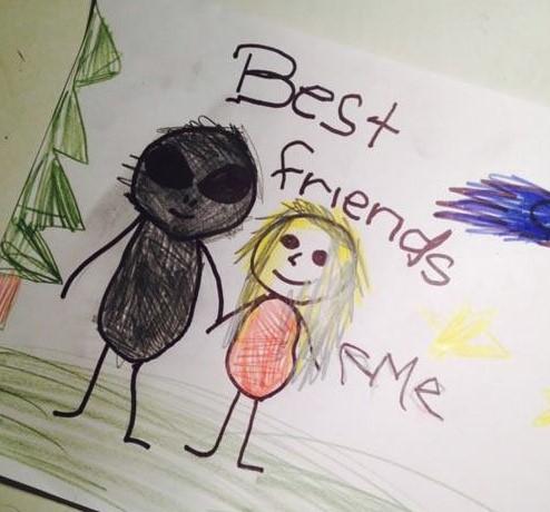 Dość niepokojący najlepszy przyjaciel, prawda?