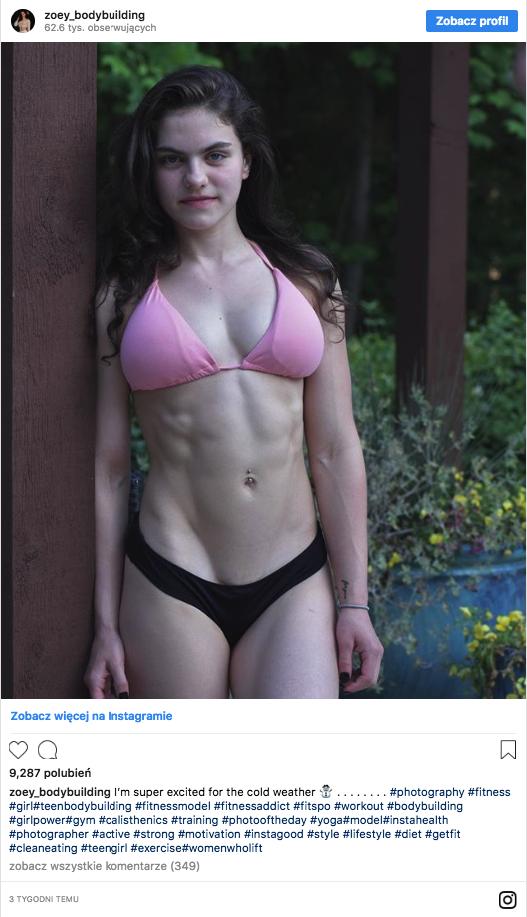 Ludzie zachwycają się ciałem 19-latki. Jednak uważają, że jej twarz nie pasuje do reszty