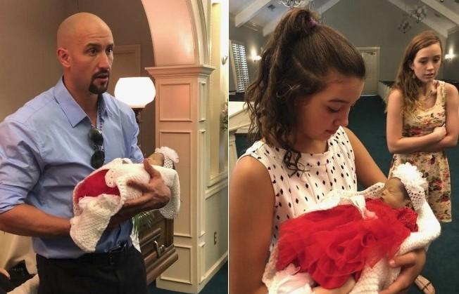 Opublikował zdjęcia martwej żony i córki. Miał nadzieję, że zobaczy je jak najwięcej osób