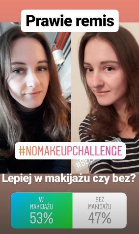 Zrezygnowała z makijażu na 7 dni. Efektami tego doświadczenia podzieliła się w sieci