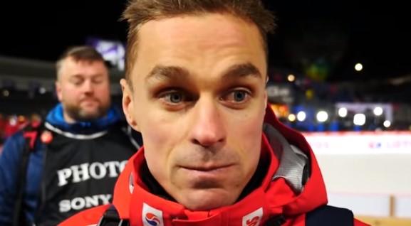 Dziennikarz zapytał Piotra Żyłę o sytuację rodzinną. Skoczek błyskawicznie odpowiedział