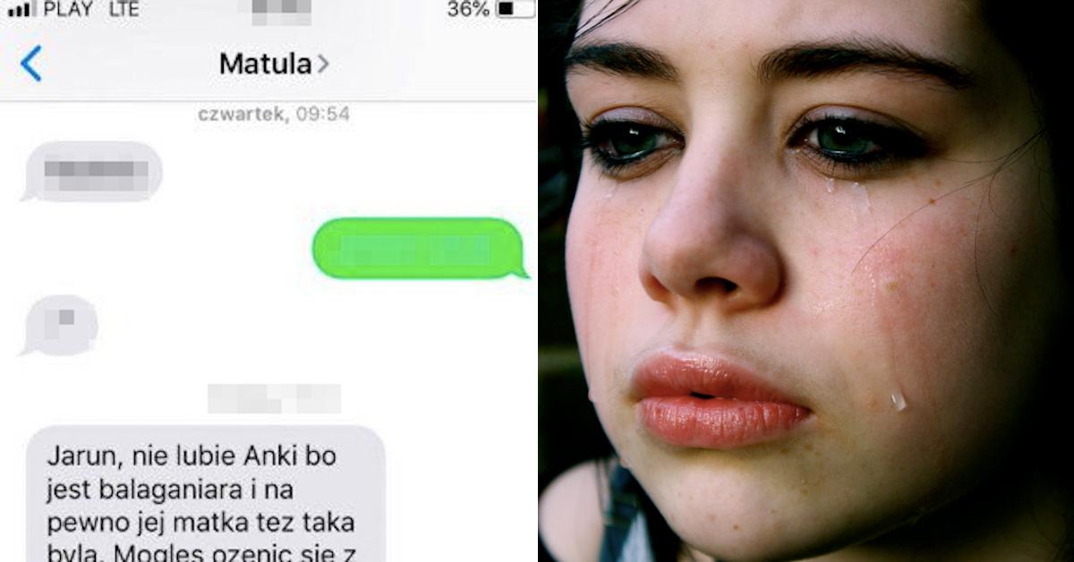 Po ślubie teściowa zaczęła nastawiać syna przeciwko synowej. Ania przeczytała jej SMS-y