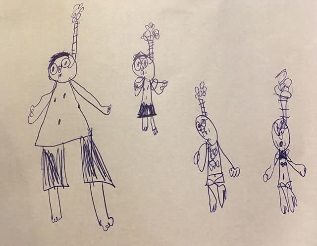 15 niewinnych rysunków dzieci, które budzą małe zakłopotanie wśród rodziców