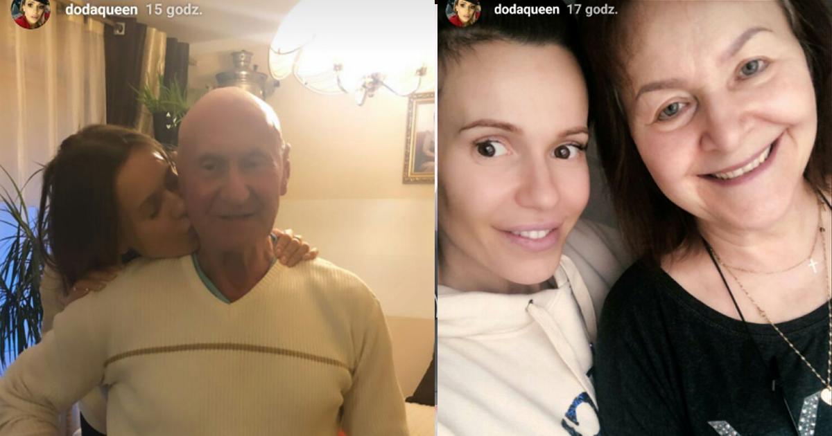 Tata Dody jest już po operacji. Patrząc na zdjęcie, które dodała, wygląda naprawdę dobrze